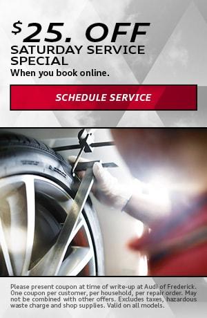 Saturday Service Special