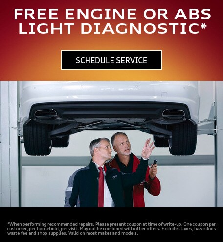 FREE ENGINE OR ABS LIGHT DIAGNOSTIC