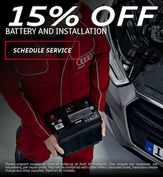 15% Off Battery and Installation