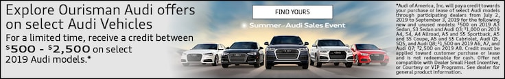 Summer of Audi Sales Event