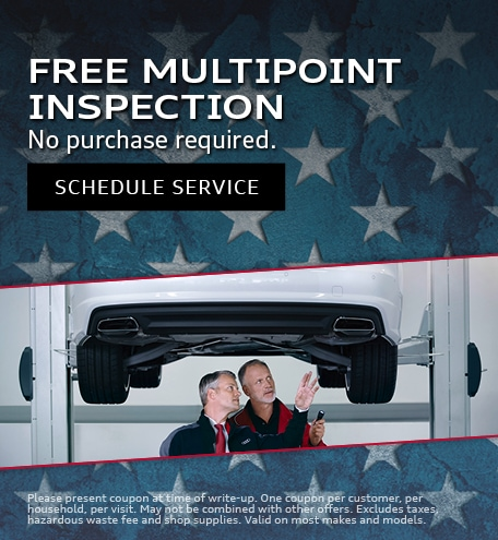 July | Free Multipoint Inspection
