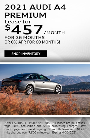 2021 Audi A4 Premium - Lease for $457/month