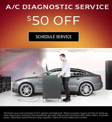 A/C DIAGNOSTICS SERVICE