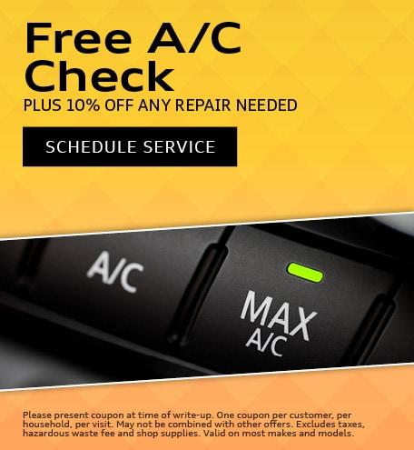 June | Free A/C Check
