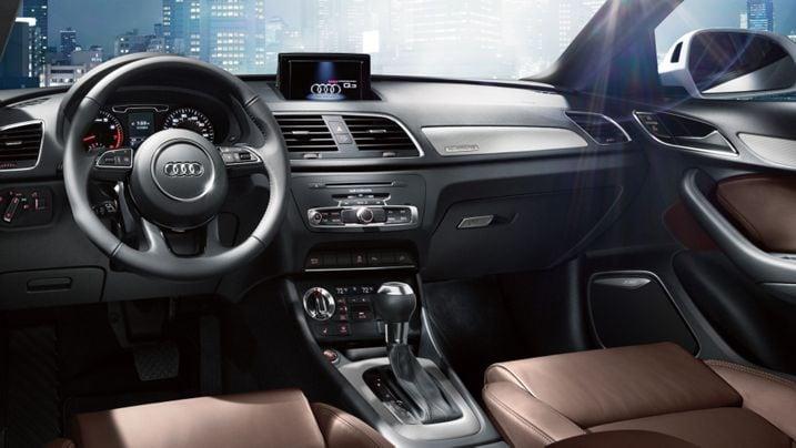 Wonderful Urban Engagement Center. The Audi Q3 ...