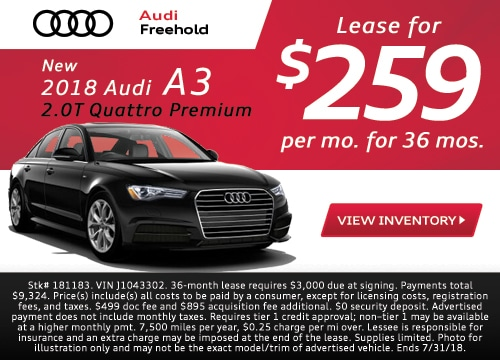 Audi Lease Deals NJ | Ray Catena Audi Freehold