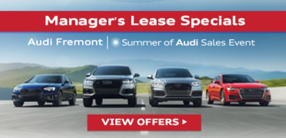 New Audi Cars For Sale in Fremont CA | Near Hayward