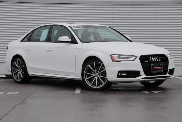 Used 2016 Audi A4 Premium Sedan For Sale in Fremont, CA