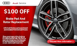 $100 Off Brake Pad and Rotor Replacement
