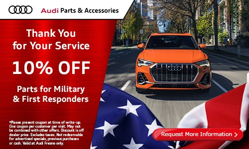 Parts for Military & First Responders