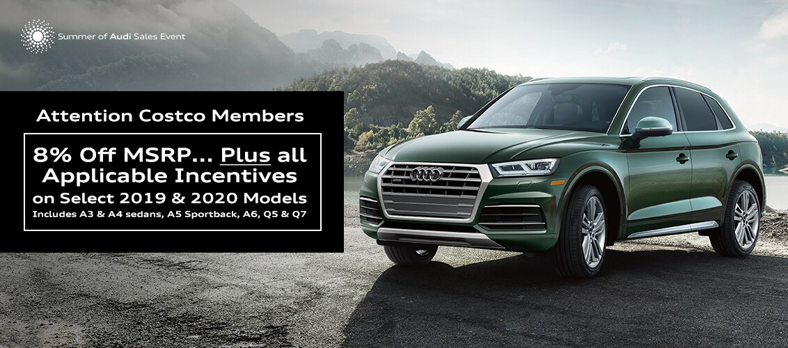 Audi Q5 Lease >> New Audi Lease And Purchase Offers Find The Car Of Your