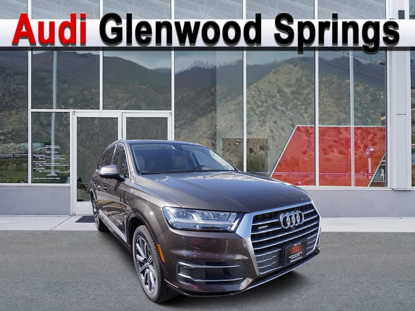 2019 Audi Q7 Sport Utility Vehicle