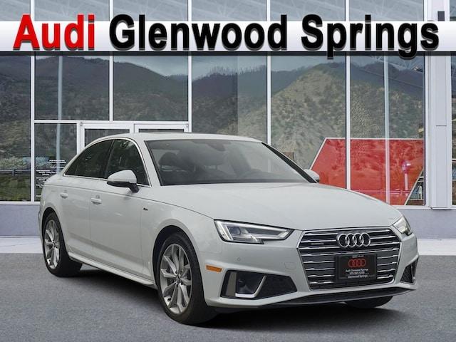 New 2019 Audi A4 2.0T Premium Plus Sedan Denver Area