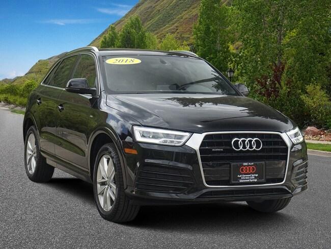 2018 Audi Q3 Premium Plus 2.0 TFSI Premium Plus quattro AWD