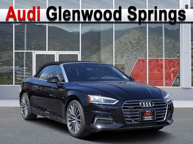 New 2019 Audi A5 2.0T Premium Plus Cabriolet Glenwood Springs