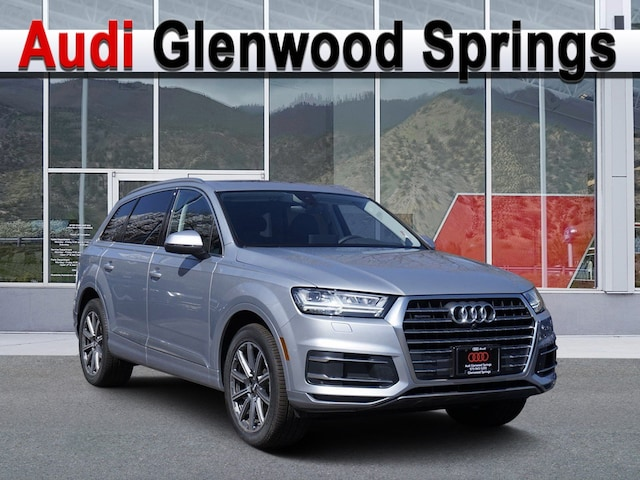 New 2019 Audi Q7 Sport Utility Vehicle Denver Area