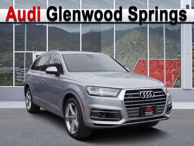 New 2019 Audi Q7 3.0T Prestige Sport Utility Vehicle Denver Area