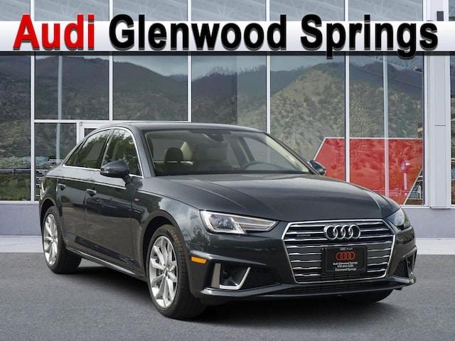 New 2019 Audi A4 2.0T Premium Sedan Denver Area