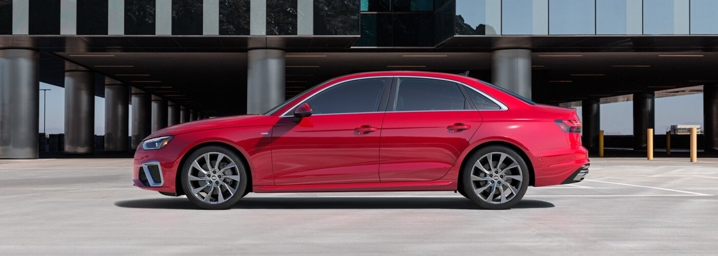 Red 2021 Audi A4