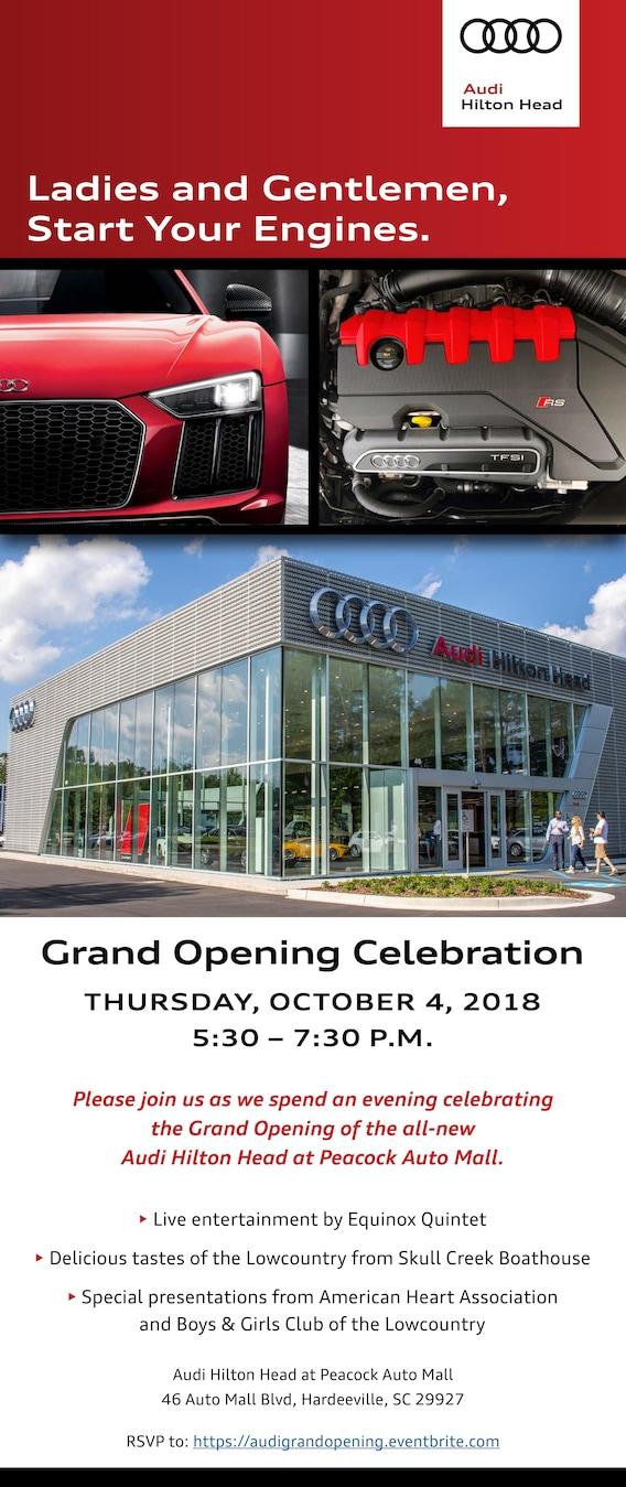 Grand Opening Audi Hilton Head