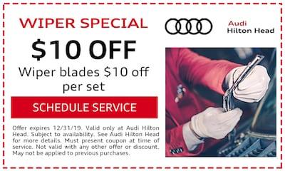 Wiper blades $10 off per set