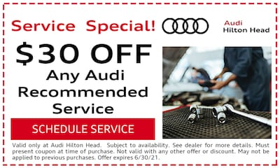 $30 Off Any Audi Recommended Service