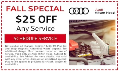 Fall Special $25 OFF Any Service