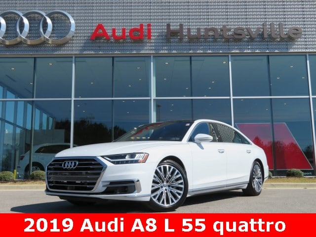 2019 Audi A8 L 3.0T Sedan for sale in Huntsville, AL at Audi Huntsville
