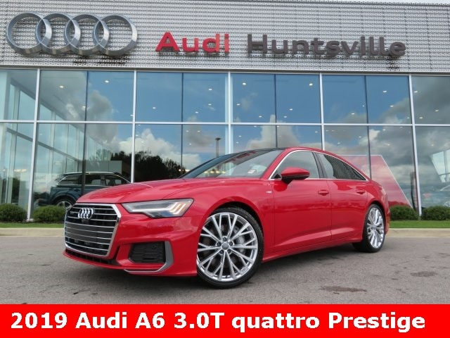 2019 Audi A6 3.0T Prestige Sedan for sale in Huntsville, AL at Audi Huntsville