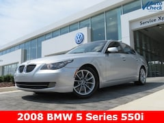 2008 BMW 5 Series 550i Sedan WBANW535X8CT48985 for sale in Huntsville, AL at Hiley Mazda of Huntsville