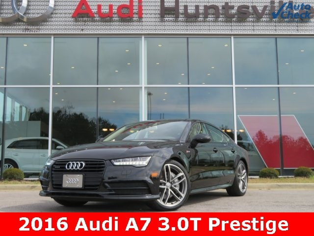 2016 Audi A7 3.0T Prestige Hatchback for sale in Huntsville, AL at Audi Huntsville