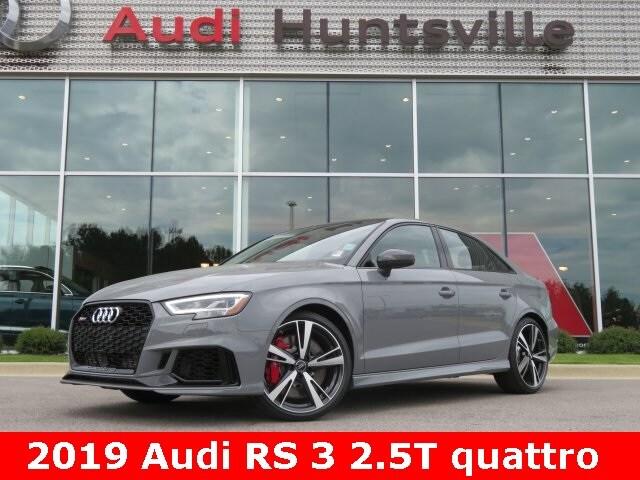 2019 Audi RS 3 2.5T Sedan for sale in Huntsville, AL at Audi Huntsville