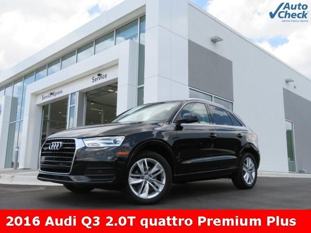 2016 Audi Q3 2.0T Premium Plus SUV for sale in Huntsville, AL at Audi Huntsville