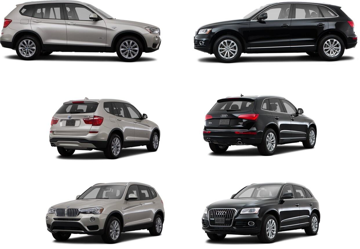 Audi Q5 vs BMW X3 in Huntsville, AL | Compare Compact Luxury SUVs