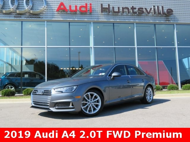 2019 Audi A4 2.0T Premium Sedan for sale in Huntsville, AL at Audi Huntsville