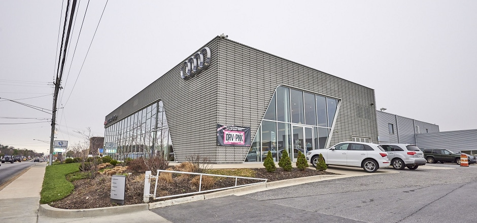Exterior view of Audi Hunt Valley Serving Baltimore