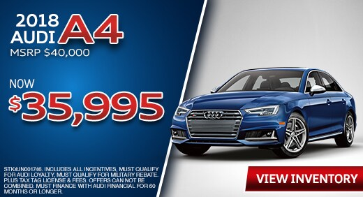 Audi Special Lease Offers In Florida Audi Jacksonville Serving - Audi car incentives