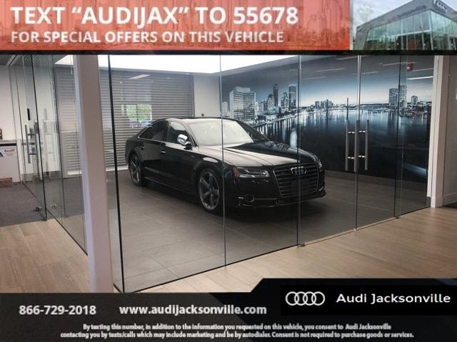 2016 Audi S8 4.0T Sedan