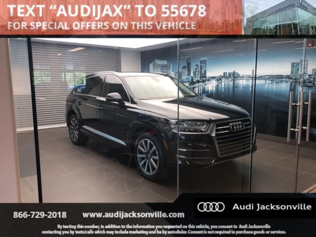 Used 2017 Audi Q7 For Sale at Audi Jacksonville | VIN: WA1LAAF70HD026830