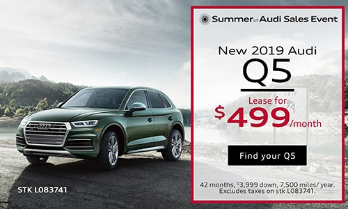 July 2019 Audi Q5 Lease Offer