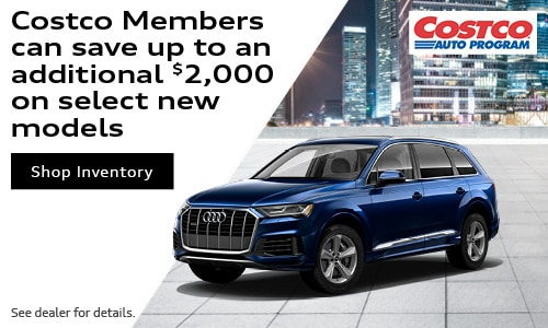 Costco Members can save up to an additional $2,000 on select new models