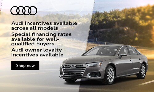 Audi incentives available across all models