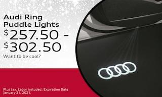 Audi Ring Puddle Lights