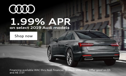 1.99% APR on select Audi models