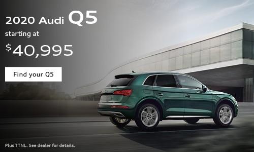 2020 Audi Q5 starting at $40,995