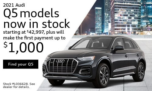 2021 Audi Q5 models now in stock starting at $42,997