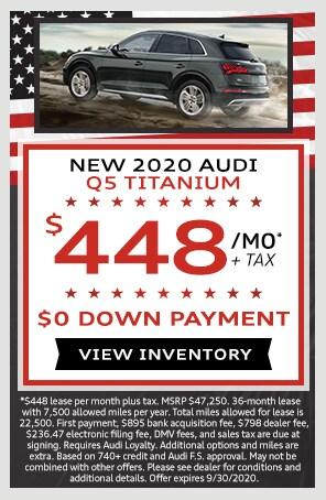 New 2020 Audi Q5 Titanium