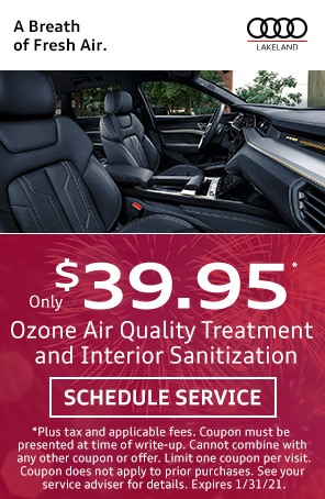 Ozone Treatment and Sanitization Special in Lakeland FL