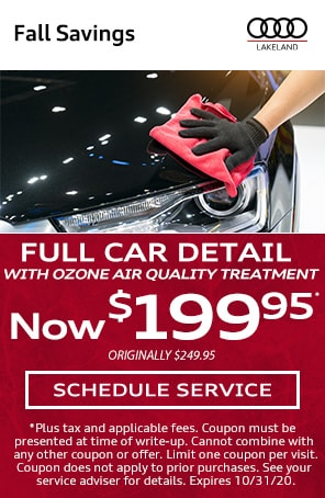 Full Car Detail with Ozone Treatment in Lakeland FL