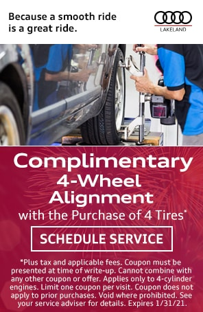 Alignment Special with Tire Purchase in Lakeland FL